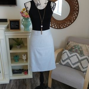 Limited Collection Grey Pencil Skirt